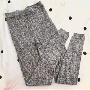 Knit Sweater Leggings